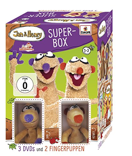 Fanbox mit Fingerpuppen (3 DVDs)