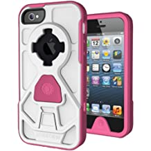 Rokform V3 Rok Shield Case Kit for iPhone5 - White/Pink
