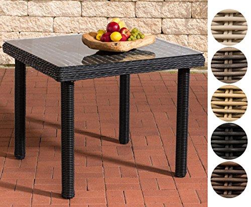 Clp Poly Rattan Garten Tisch Puerto Rico Klarglas Esstisch