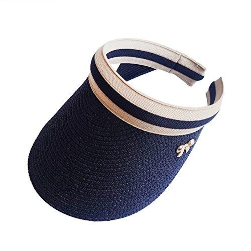 Demarkt Unisex Visoren Faltbar Empty Top Sonnenvisor Sommer Sonnenschutz Strand Hüte