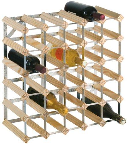 Longlife Weinregal für 30 Flaschen