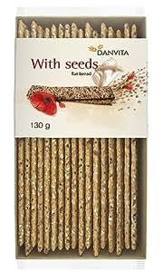 Danvita Wholegrain Flatbread with Seeds (Pack of 6)