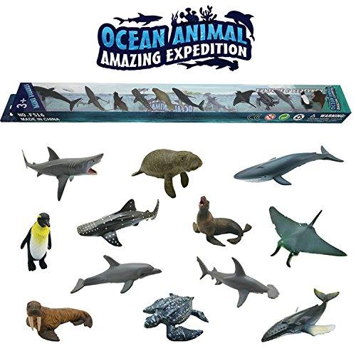 PGYZ Simulación sólido Mini Animal Modelo niños