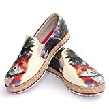 Stylish Fox Slip on Sneakers Shoes HV1564