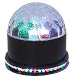 Ibiza UFO-ASTRO-BL LED-Lichteffekt RGB schwarz