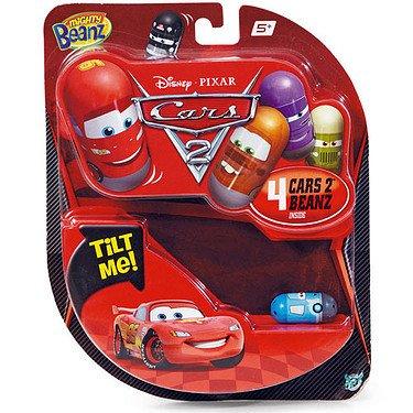 Disney Pixar Cars Mighty Beanz 4-Pack [UK Import]