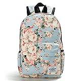 Winnerbag frischem Blütendruck Rucksäcke weiblichen Casual Leinwand Bookbags Für Mädchen Schule Taschen Preppy Stil Frauen reisen Rucksack