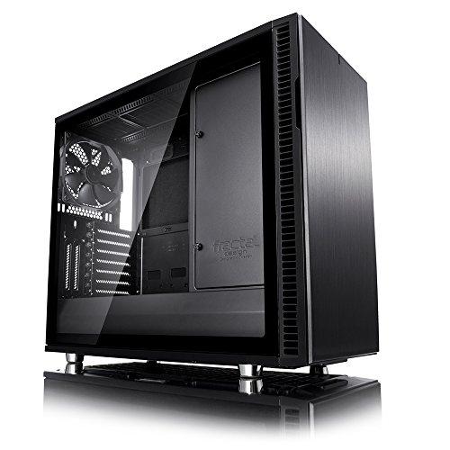 Fractal Design FD-CA-DEF-R6C-BKO-TGL Define R6 Blackout Tempered Glass USB-C Gehäuse
