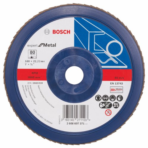 BOSCH 2 608 607 371  - DISCO DE LAMINAS - 180 MM  22 23 MM  80 (PACK DE 1)