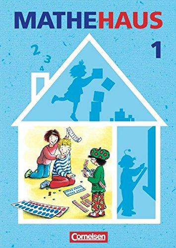 Mathehaus - Ausgabe B / 1. Schuljahr - Schülerbuch mit Kartonbeilagen,