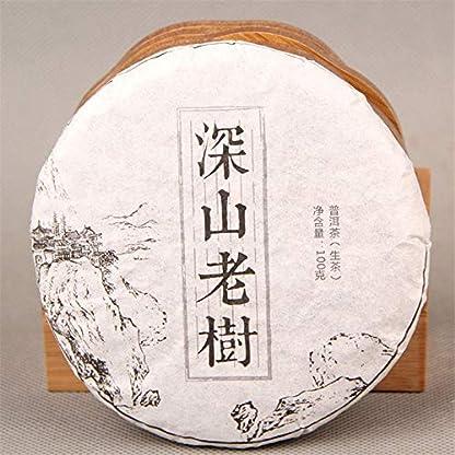 Handgemachter-puer-Tee-100g-022LB-roher-Puer-Tee-Chinesische-kologie-alter-Baum-organischer-grner-puer-Tee-PU-Erh-Sheng-Tee-Grner-Tee-Chinesischer-Tee-Puer-Tee