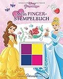 Disney Prinzessin Mein Fingerstempelbuch: Mit vier traumhaften Fingerfarben