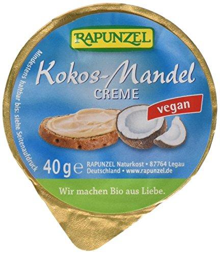 Rapunzel Kokos-Mandel-Creme, 11er Pack (11 x 40 g) (Kokos-mandel-brot)