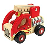 BINO 84080 - Holzauto, Feuerwehr
