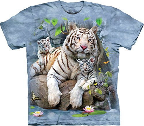 The Mountain Kinder W Tigers of Bengal Kids Tee T-Shirt, Blau, S (Athletic T-shirt Tiger)