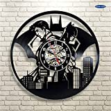AIYOUBU 2017 Nouvelle 3D Horloges Murales Décor À La Maison CD Disque Vinyle...