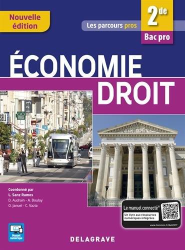 Economie Droit 2de Bac Pros Tertiaires - Pochette élève