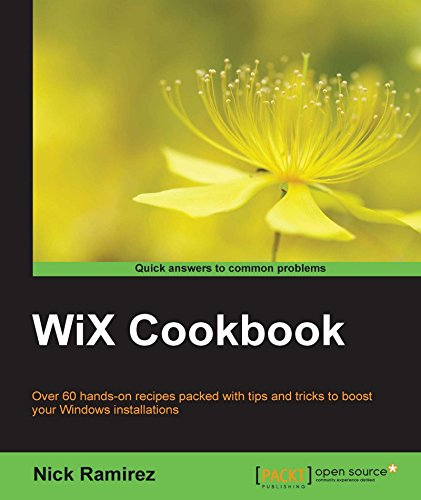 WiX Cookbook