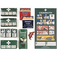 Cederroth Refill-Paket Erste-Hilfe-Tafel, 11-teilig preisvergleich bei billige-tabletten.eu
