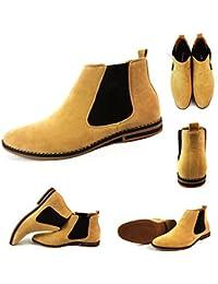 Amazon.es: Botas Italianas Sin cordones Zapatos: Zapatos
