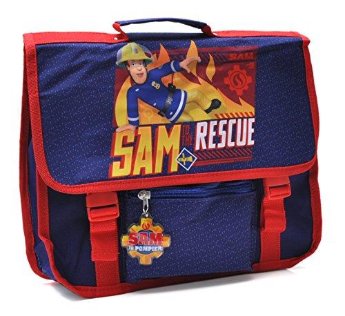 Sam Le Pompier - Petit Cartable 31 cm - Bleu - Collection to The Rescue Maternelles Petites Sections