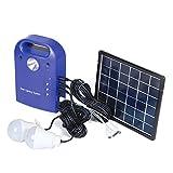 Tutoy 28Wh Portátil Pequeño DC Paneles Solares De Carga del Generador Sistema...