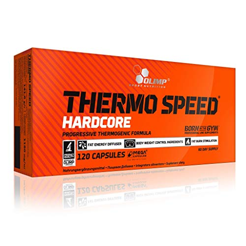 Olimp Thermo Speed Hardcore Mega Caps 120 Kapseln, 2er Pack (2 x 141 g)