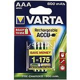 Micro-Akku VARTA ready to use Ni-MH, 800mA, Typ AAA