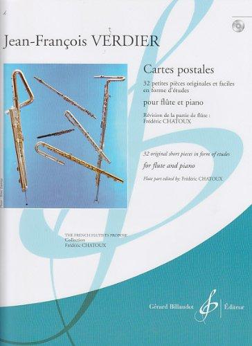 Cartes postales (1 CD) : Flûte et piano