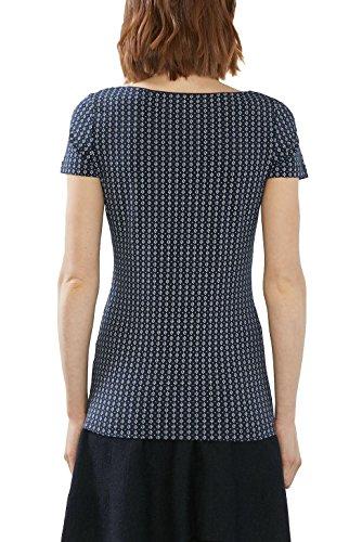 ESPRIT Damen T-Shirt Mehrfarbig (Navy 400)