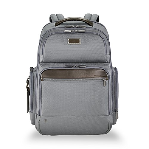 Briggs & Riley Work Large Backpack Aktentasche, 48 cm, 24.5 liters, Grau (Grey) -