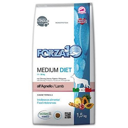 F10 cane medium diet agnello/riso kg 12