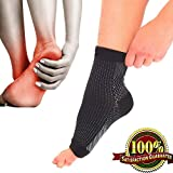 Compression Socks Plantar Fasciitis Foot Arch Support Pain Heel Relief Splint Medium