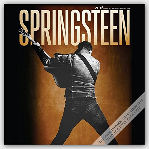 Bruce Springsteen Calendar 2016 18 Month (Square Wall) por Browntrout Publishers