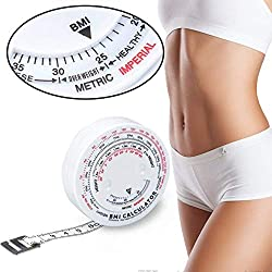 Beauty Body Mass Index Runde Fettmessung Maßnahme Fitness Messkörper Retractable Tape