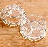 qilene Knoblauch Ginger Grinder Press Schäler Crusher Werkzeug für Küche (transparent)