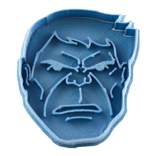 Cuticuter Superhelden Hulk Ausstechform, Blau, 8x 7x 1.5cm