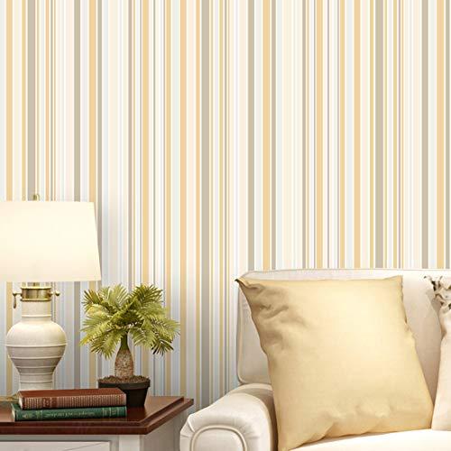 YUYAX Tapete Selbstklebende Moderne Minimalistische Für Wohnzimmer Schlafzimmer TV Hintergrund Küchenschränke Regale Kleiderschränke Dekoration, Yellow, 40 * 300cm -