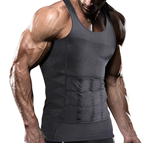 VENI MASEE Mens dimagrante Body Shaper Vest/Shirt Abs addome Slim, prezzo/Pezzo dimagrante Vest Marca su Amazon USA