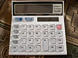 #9: HIGH QUALITY CLTLLZEN CT-512GC ELECTRONIC CALCULATOR WITH LARGE DISPLAY DUAL POWER CALCULATOR (WHITE COLOUR AVAILABLE)