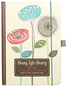 Diary 2014 - Busy life Diary for home and work