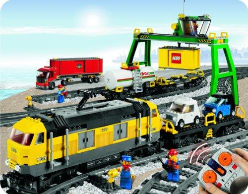 LEGO - 7939 - Jeux de construction - LEGO city - Le train de marchandises