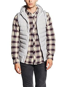 Urban Classics Small Bubble Hooded Vest, Chaleco Acolchado para Hombre