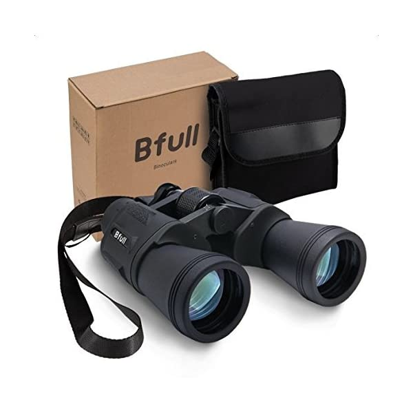 Bfull High Power 12×50 Binoculars,Compact Folding,Bird Watching Binoculars,Binoculars with Super Clear,Waterproof,Perfect for Outdoor Hunting etc,Suit for Adults and Kids 51tPtObEpzL