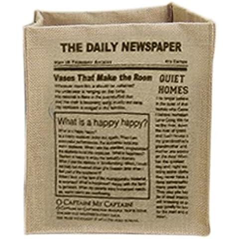QHGstore Productos de Ordenamiento cosmética caja plegable del bolso del organizador del envase cesta de ropa EL