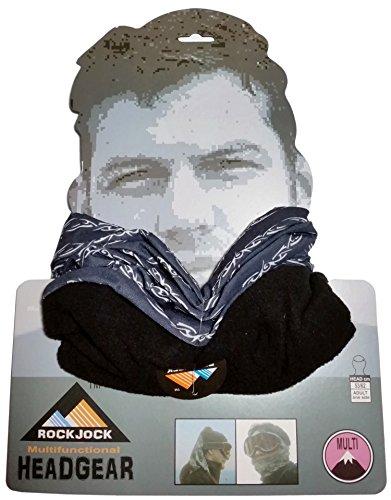 Pour Pince multifonctions, Cache-cou, Bonnet, cagoule différents Designs d'hiver en microfibre polaire Multicolore - Black Barb