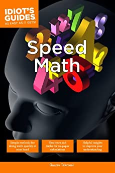Speed Math (Idiot's Guides) by [Tekriwal, Gaurav]