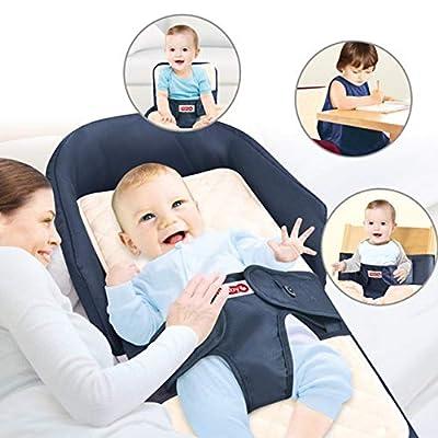 Keraiz - Cama de viaje portátil para bebé recién nacido, colchón para dormir