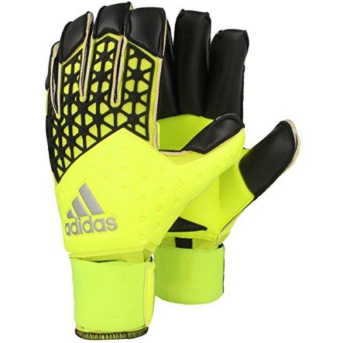 adidas Unisex Torwarthandschuhe Ace Zones Fingertip, solar yellow/semi solar yellow/black, 11, S90141