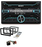 caraudio24 Sony WX-920BT CD MP3 Aux 2DIN Bluetooth USB Autoradio für Alfa Romeo 159 Spider Brera ab 05 Navi